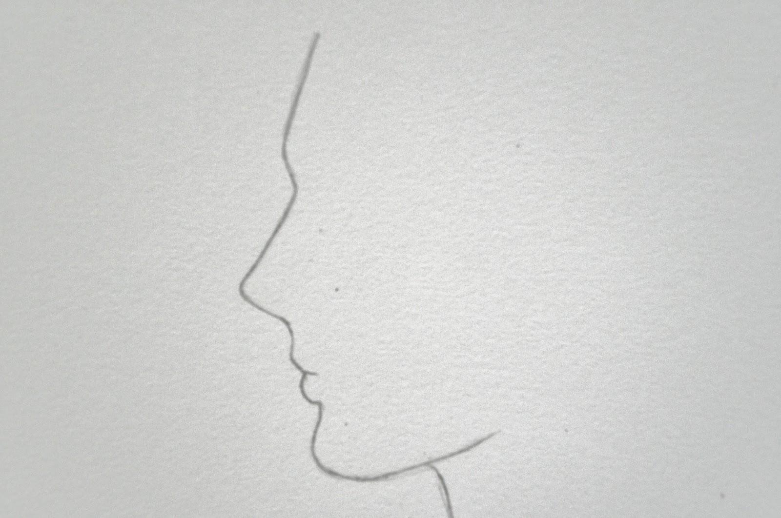 DOMERELLY dibujando TUTORIALES DE DIBUJO NARIZ DE PERFIL