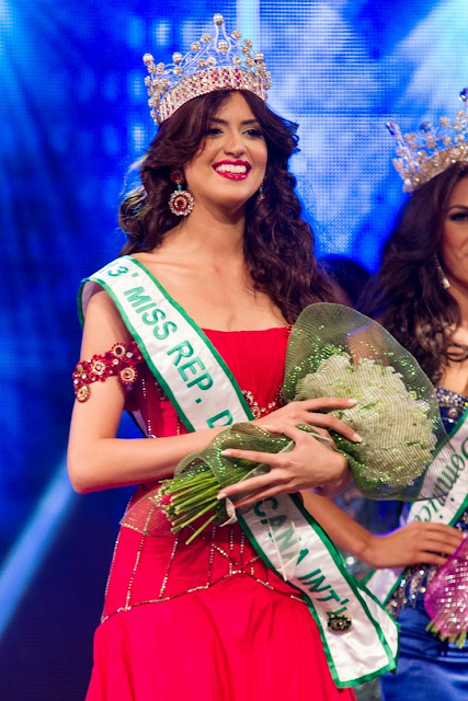 Miss International Dominican Republic 2013 Carmen Munoz