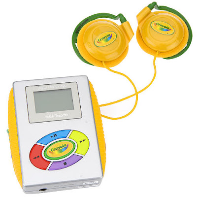Crayola mp3 player review