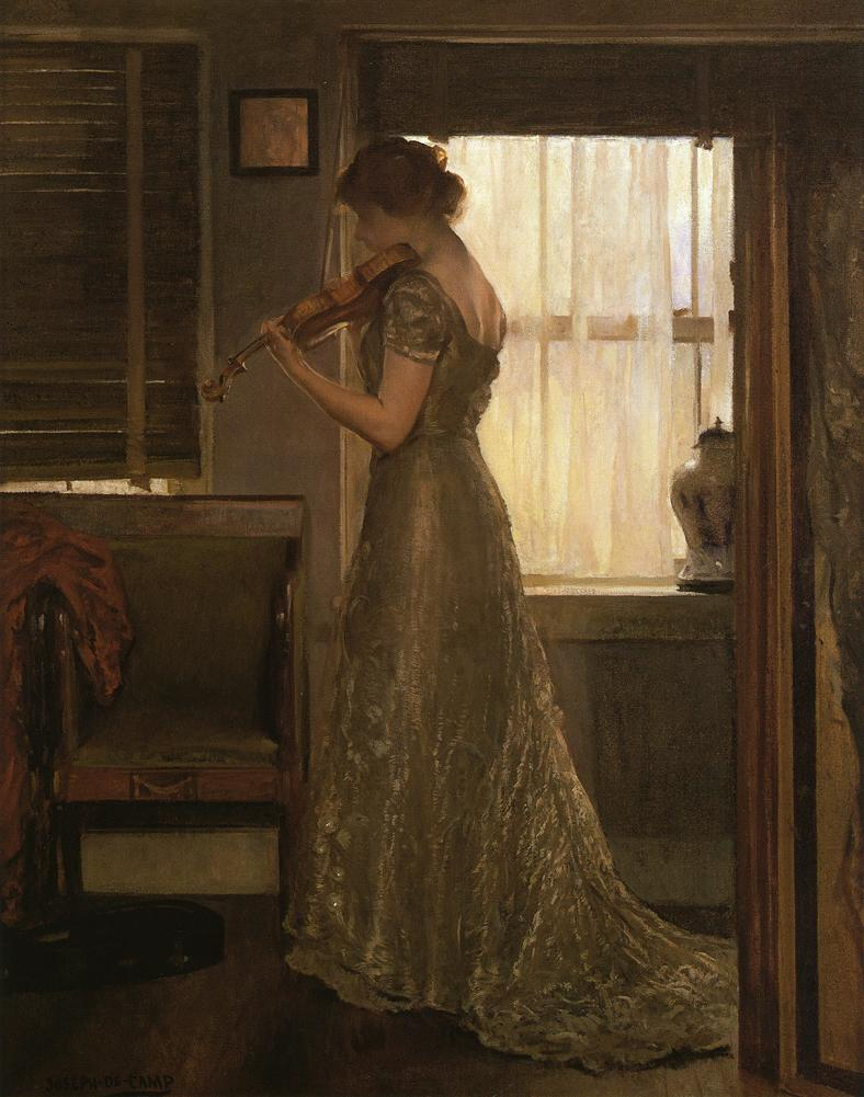 Joseph DeCamp, The Violinist (1892)