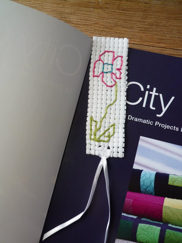 Her wee man made me a book mark, isnt it just lovely?