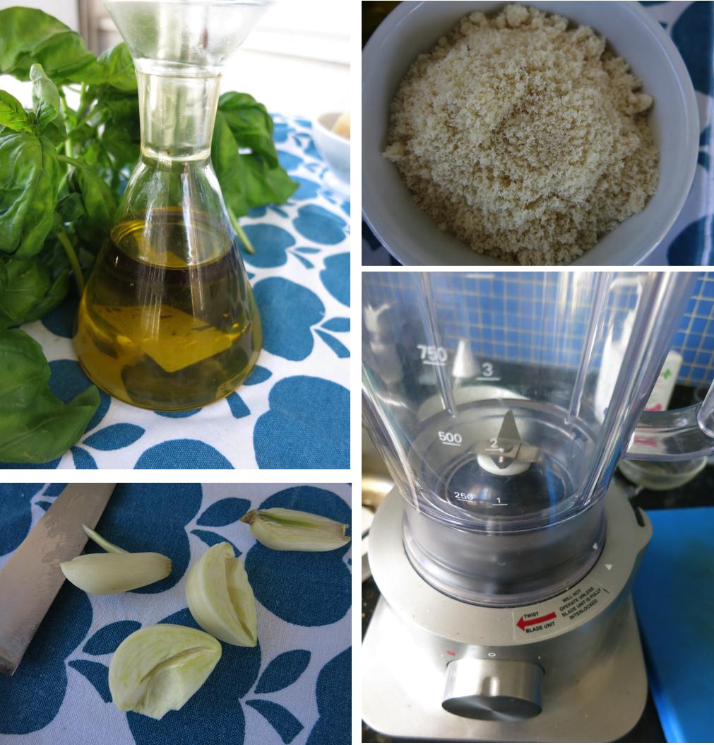 Tanana verde manzana - Como se hace la salsa pesto para pasta ...