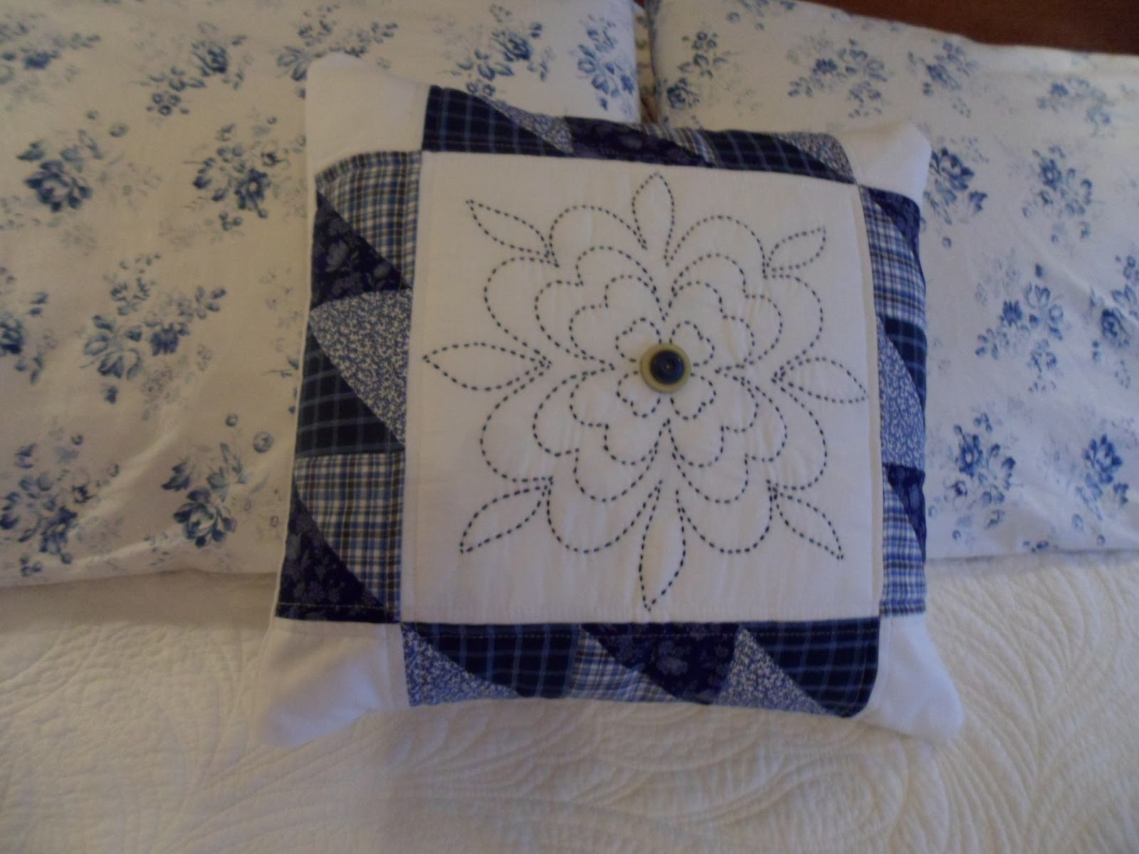 Northern Deb Quilts Hand Quilting Using Embroidery Floss