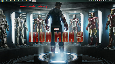Download Tema Iron Man 3 Untuk Windows 7
