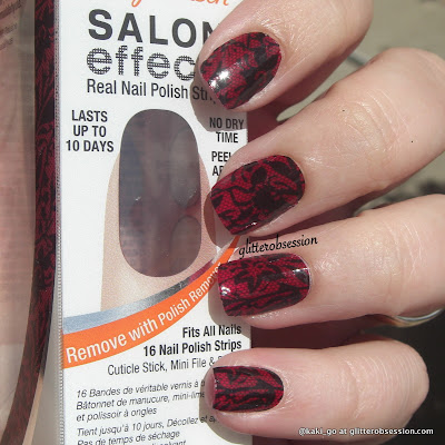 Sally Hansen Salon Effects I Love Lacey