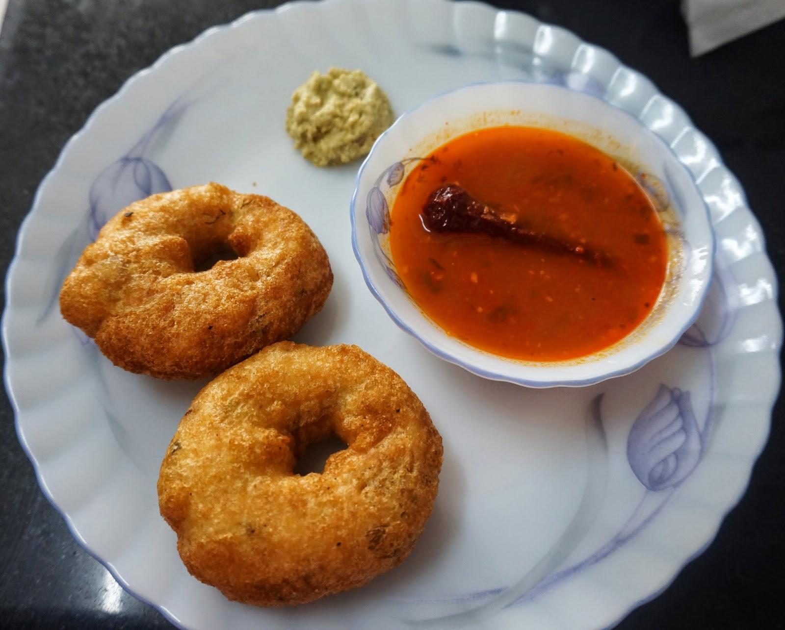 Sambar Vada, Sambhar Vada, Medu Vada