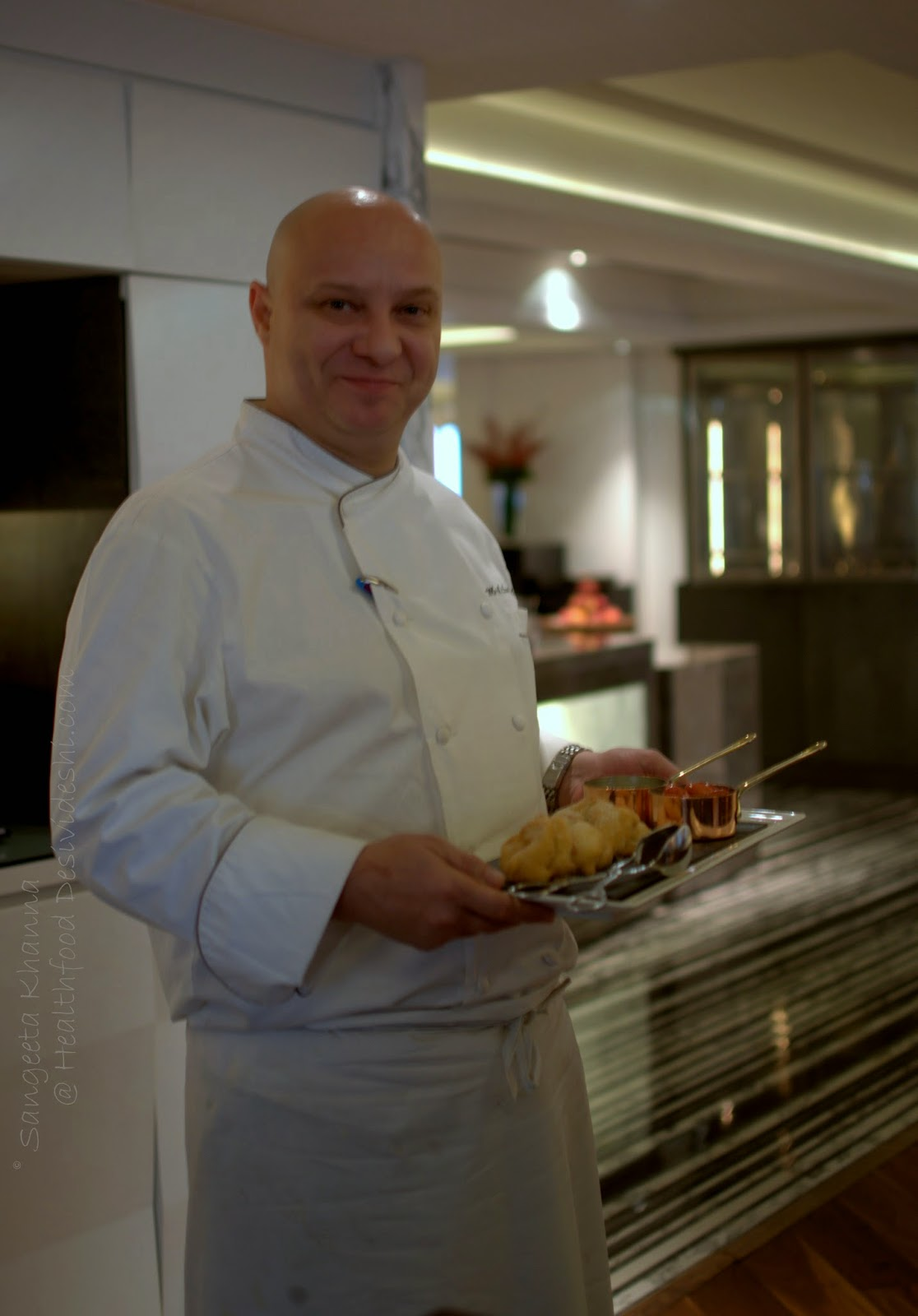 a stammtisch lunch at Hyatt Regency : Swiss-German food served in a cozy set up and a masterclass by Chef Marin Leuthard