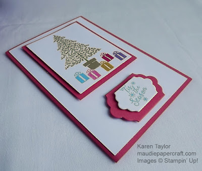 Stampin' Up! Peaceful Pines card