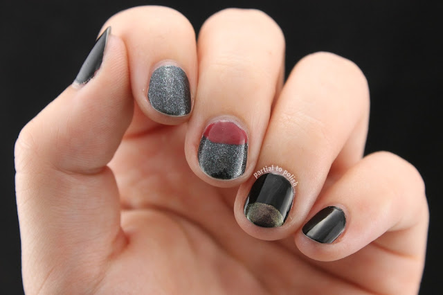 Dark Mix & Match Featuring China Glaze Choo-Choo Choose You