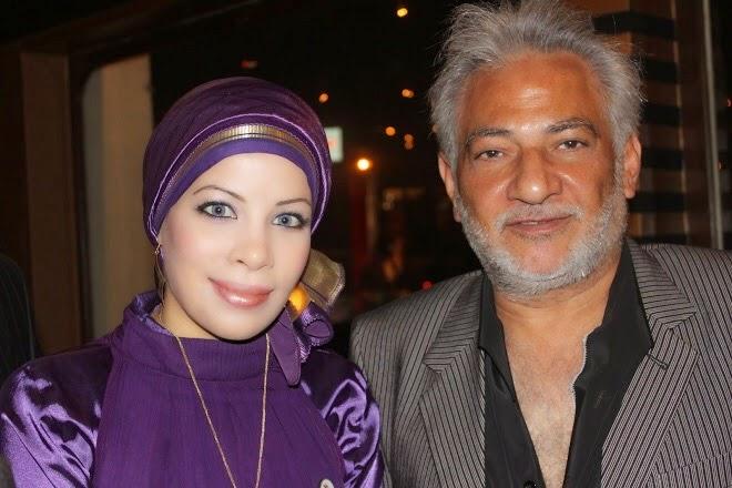 مع الفنان الكبير سامح الصــريطى عام 2010