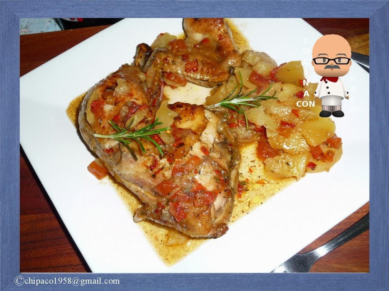 Cocina con Paco: Traseros de pollo asados