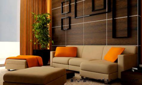 sofa rumah minimalis 3  Cara Mendesain Rumah