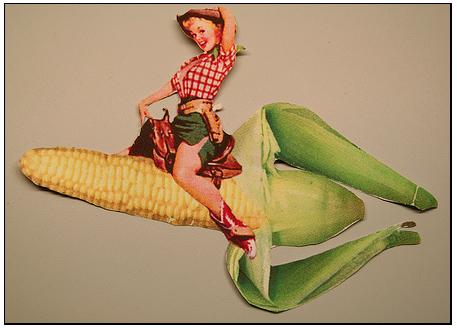 Sex girl corn cob