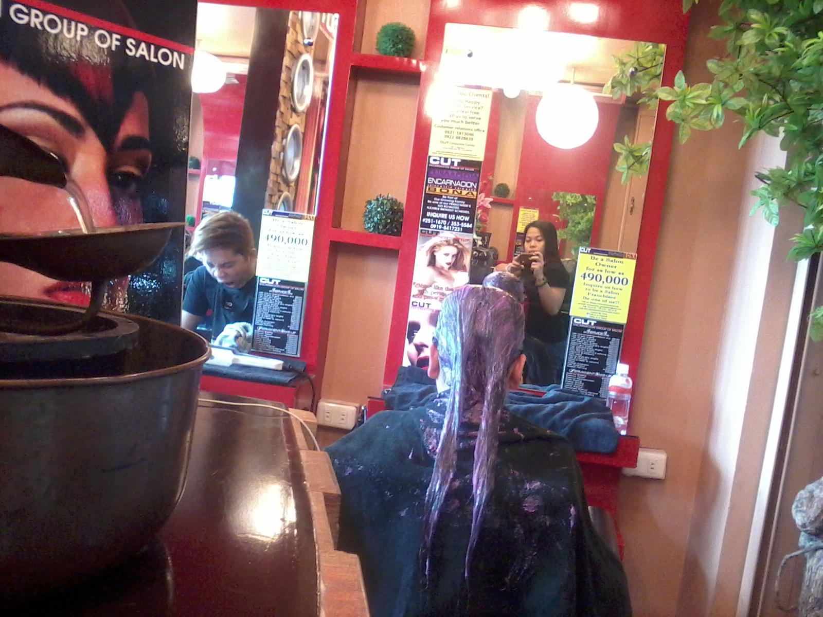 Anything so beautiful rainy days in all days for V encarnacion salon