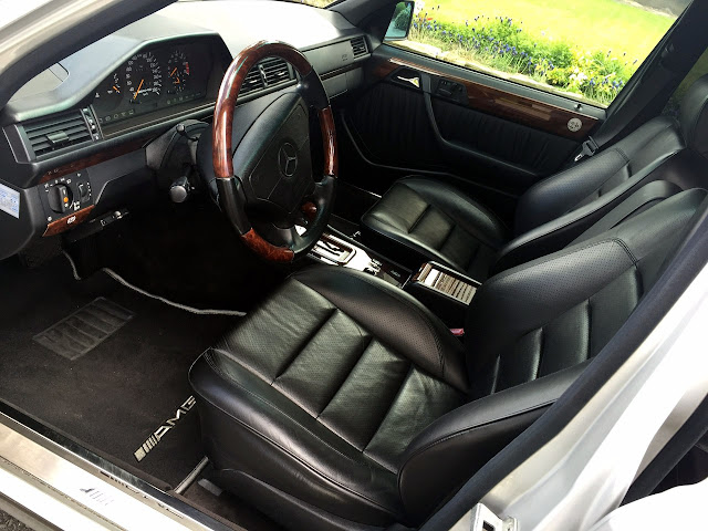 mercedes w124 interior