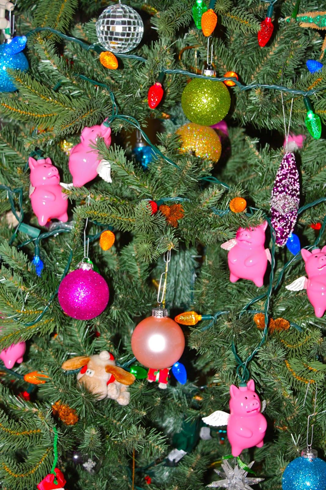 Flying Pig Angel Ornaments