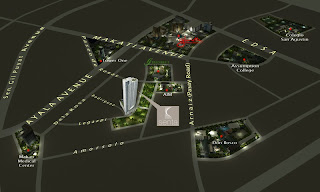 Senta Makati Location Map