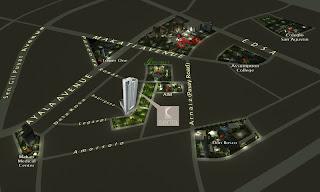 Senta Makati Location Map