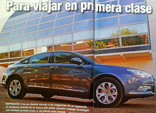 prueba test review citroen c5 hdi
