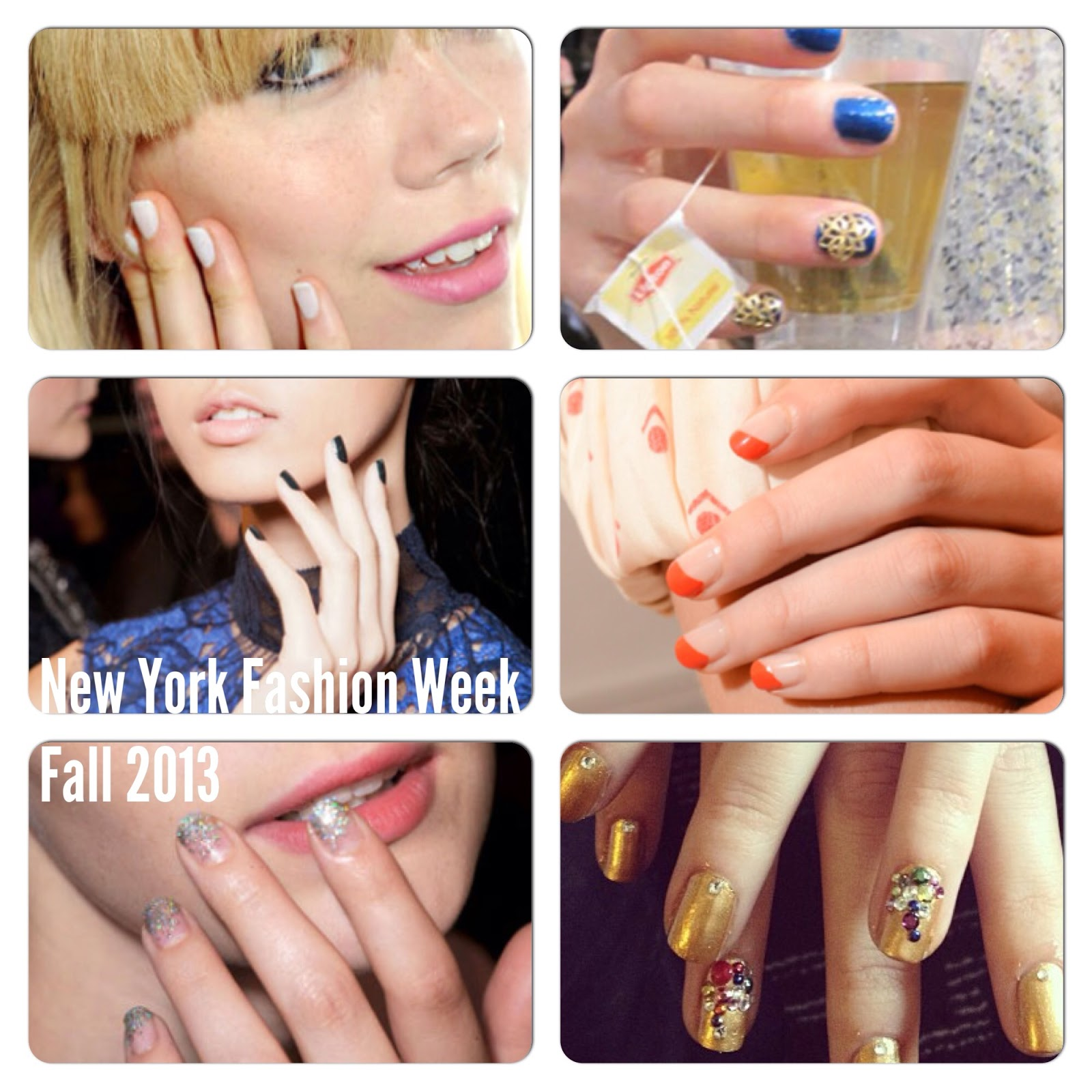 Karen Lives High: Color Blocked Nails Inspired by the New York ...