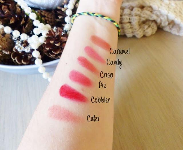 swatchs blushs crèmes palette maquillage de blushs crèmes The Balm