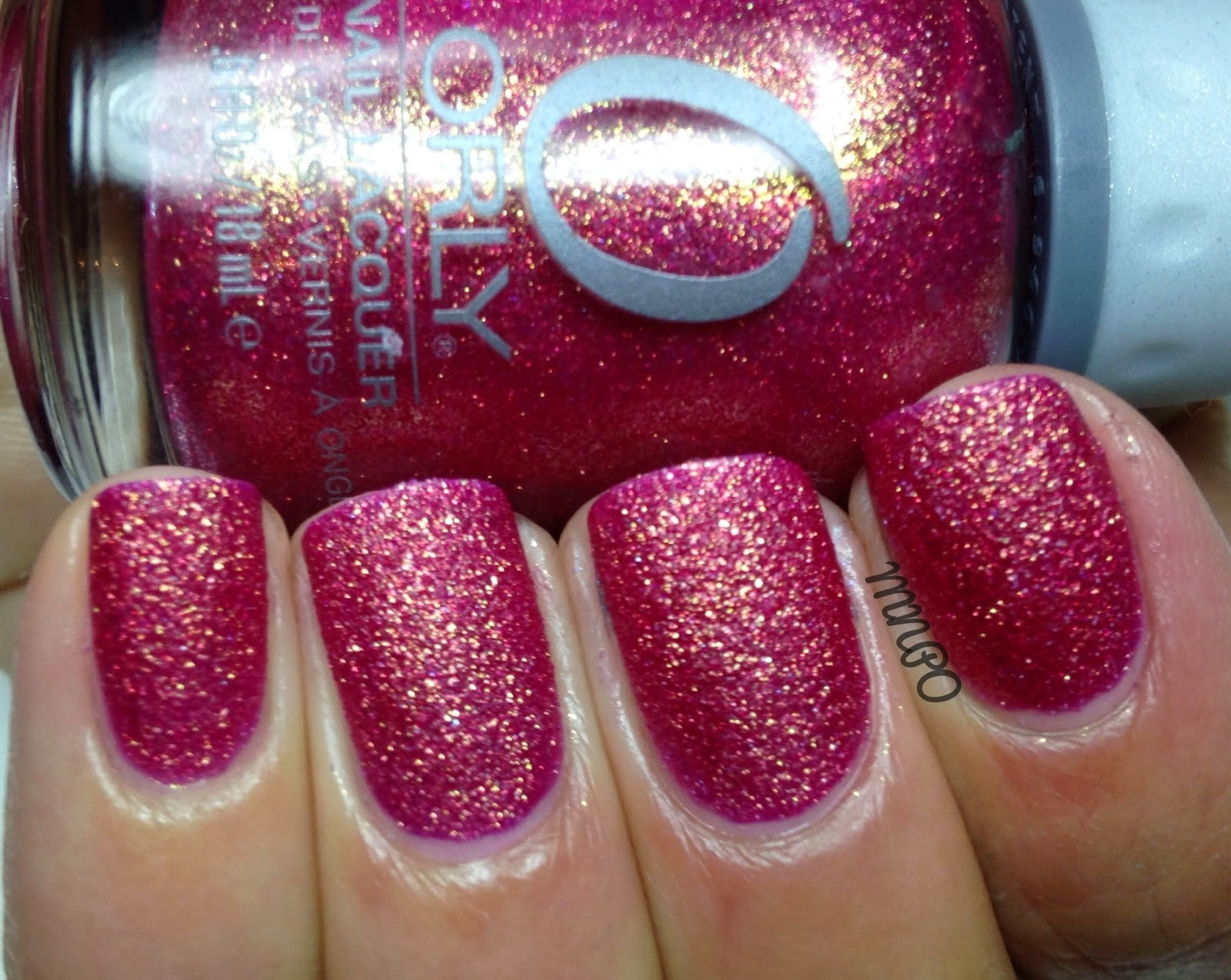 Orly Pink Crystal