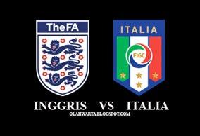 Prediksi Head to Head Inggris vs Italia