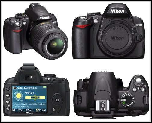 gambar kamera Nikon D3000