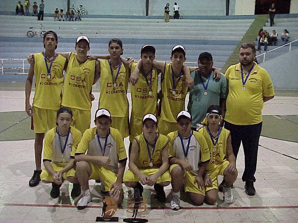 CSA/Objetivo: campeão infantil da Liga de Basquetebol do Oeste Paulista em 2001