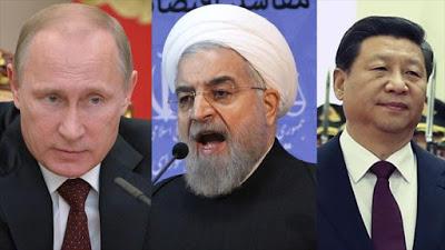 EE.UU. en shock - Se confirma la alianza entre las 3 más grandes súper potencias antiimperialistas