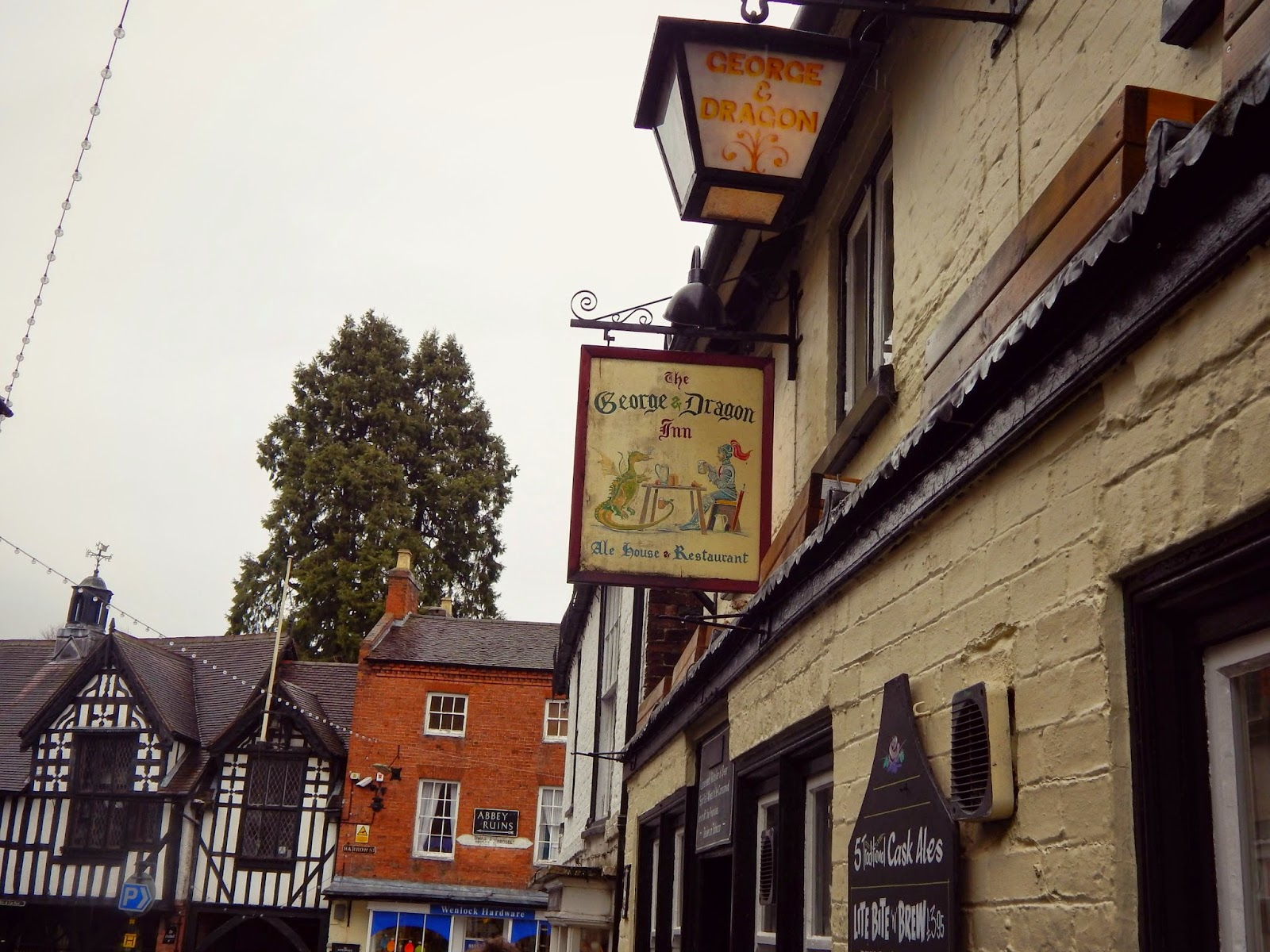 Much Wenlock George and Dragon