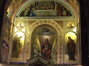 Η προσφάτως συντηρημένη ιερά κόγχη του Ναού μας