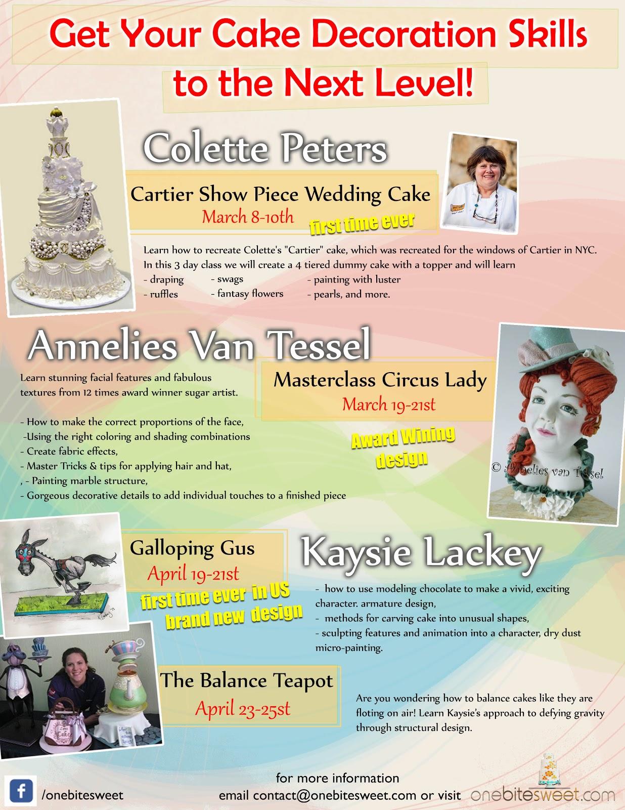 Cake Decorating Classes Near Ocala : New York City Sugar Art & Cake Decorating: Cake Artistry ...