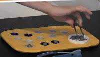 fabriquer jeu en carton plateau de transvasement