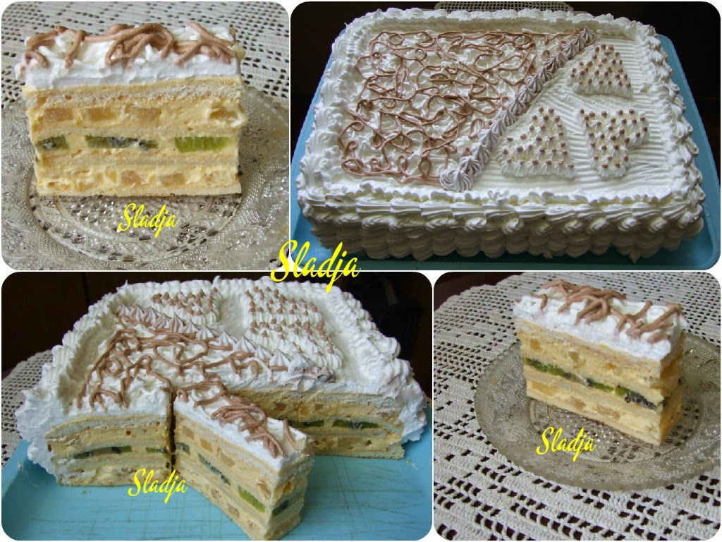 DEJANOVA RODJENDANSKA TORTA* (ananas-kivi torta)