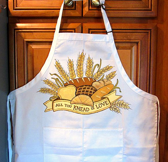 All you knead is love bread bakers apron.