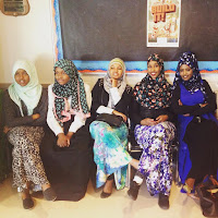 Girls and modern clothes in Somalia 2