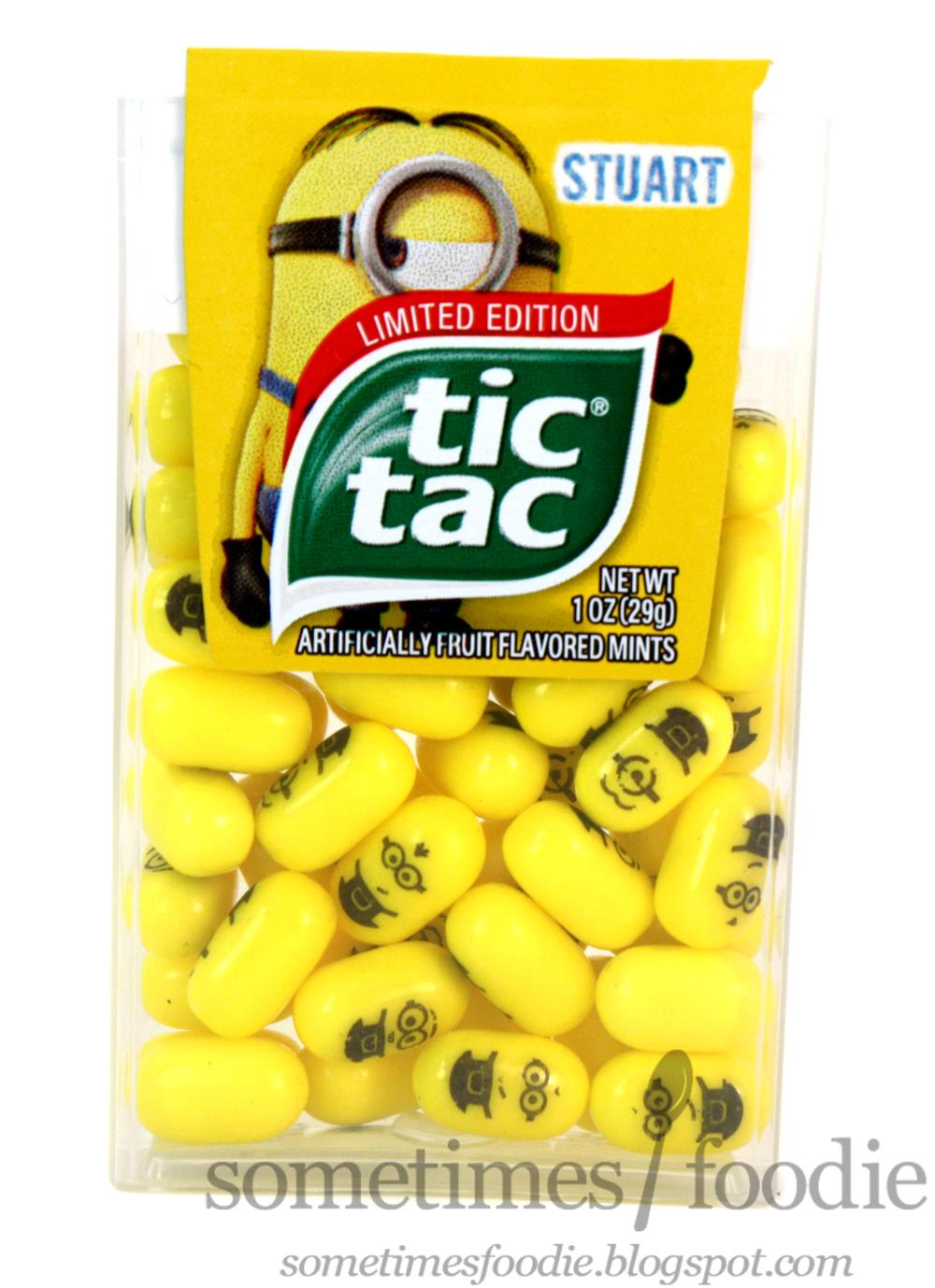 Tic tac minion