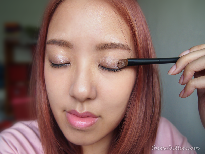 Day makeup tutorial with NARS Dual-Intensity Eyeshadow