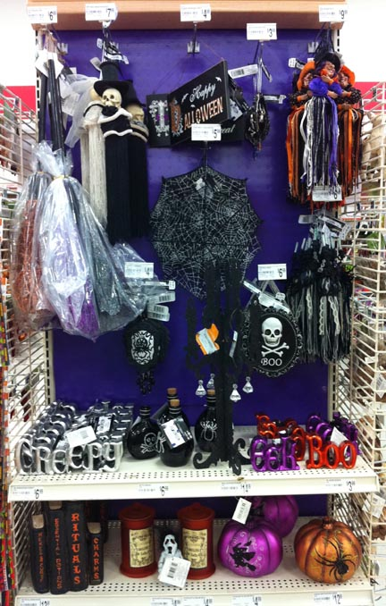 michaels has rolled out their halloween goodies some spooky skull