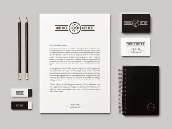 Download Branding Stationery Mockup Gratis - BRANDING / IDENTITY MOCKUP VOL 2