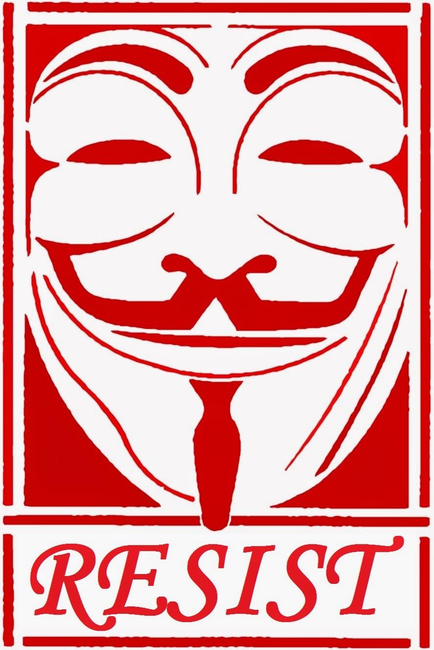 Anonymous: Resist.