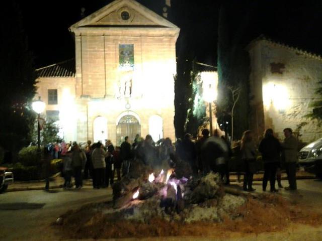 Plaza de la Sant. Trinidad, Villanueva de los infantes, campo de montiel, castilla la mancha