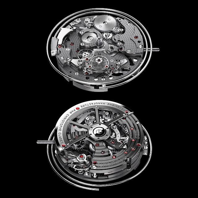 Christophe Claret Kantharos Chronograph Watch machine