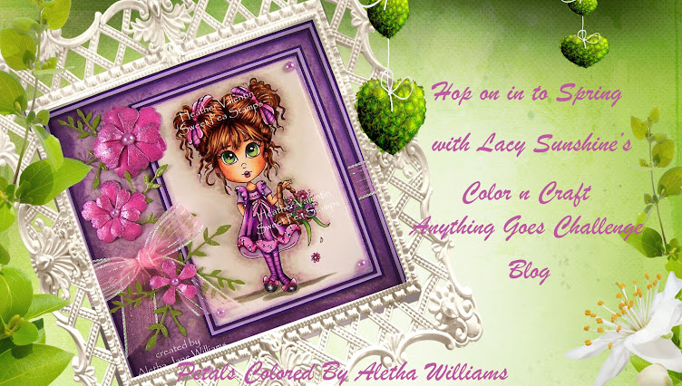 Lacy Sunshine's Color and Craft Your World Blog and Challenge