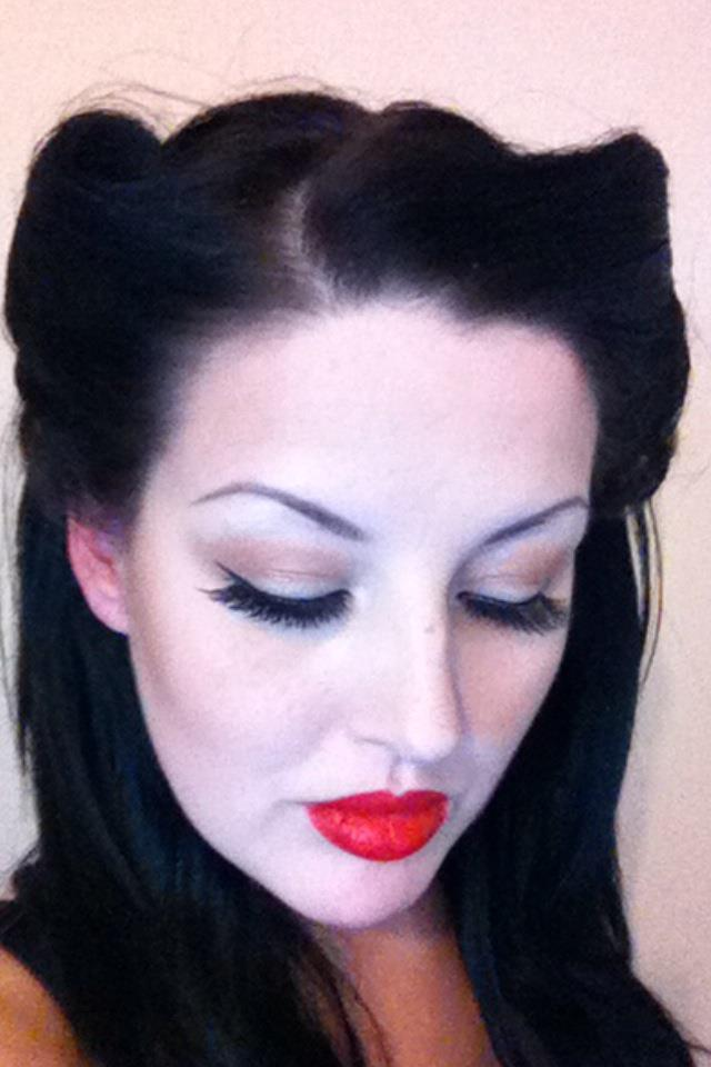 40s Makeup Tutorial 40u0026#39;s makeup tutorial
