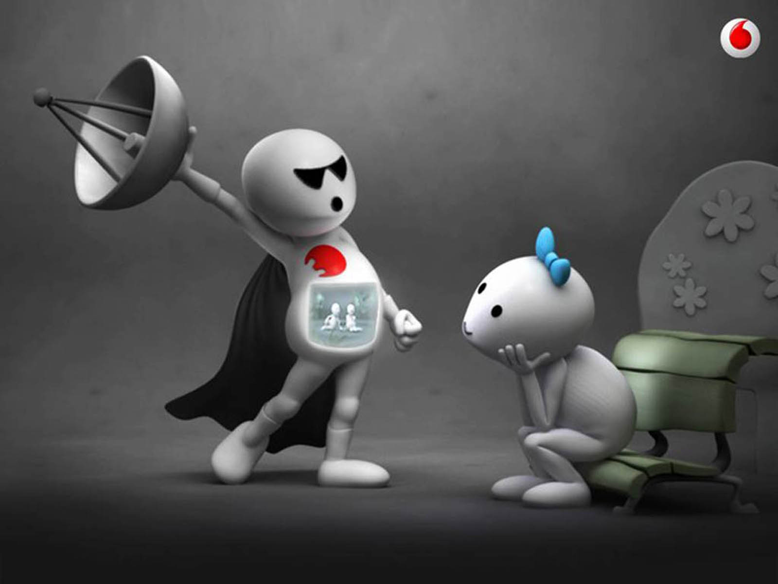 wallpapers: Vodafone Zoozoo Wallpapers