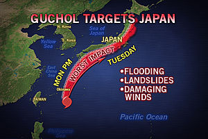 Typhoon_guchol_worst_affected_area_map_recent_natural_disasters