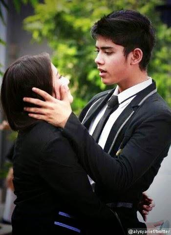 Foto Romantis Aliando dan Prilly