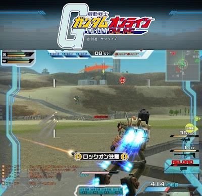 Mobile suit Gundam Online multijugador anuncio